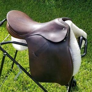 Passier and Sohn English dressage saddle